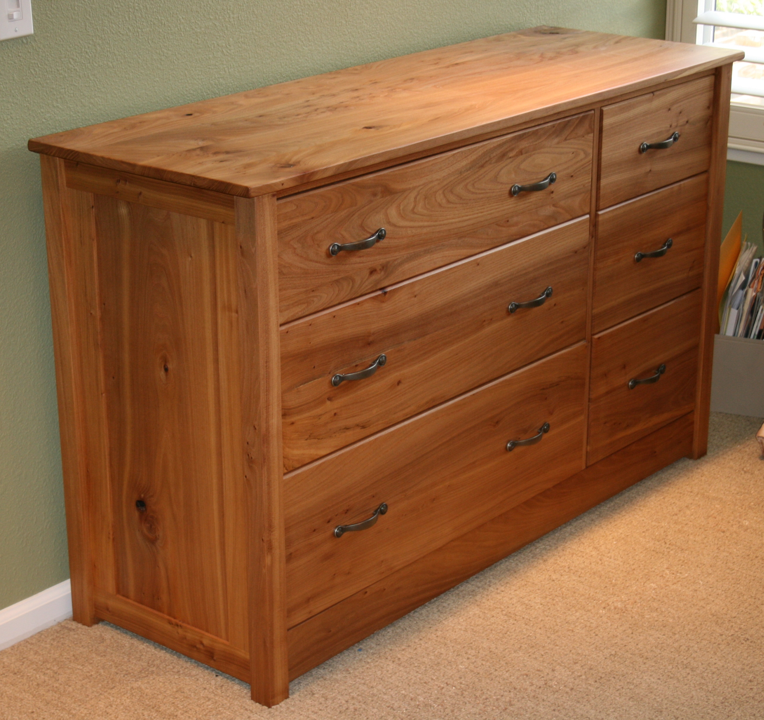artists plan chest of drawers